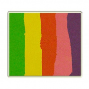 Diamond FX 50g Split Cake Face Paint ~ Raving Rainbow