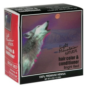 Natural Hair Colour and Conditioner, Bright Red, 120ml