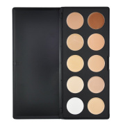 Beauties Factory 10 Colours Camouflage & Concealer Palette (Cream Texture) - Starters