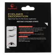 Black Temporary Eye Tattoo Transfer Eyeshadow Eyeliner Stickers