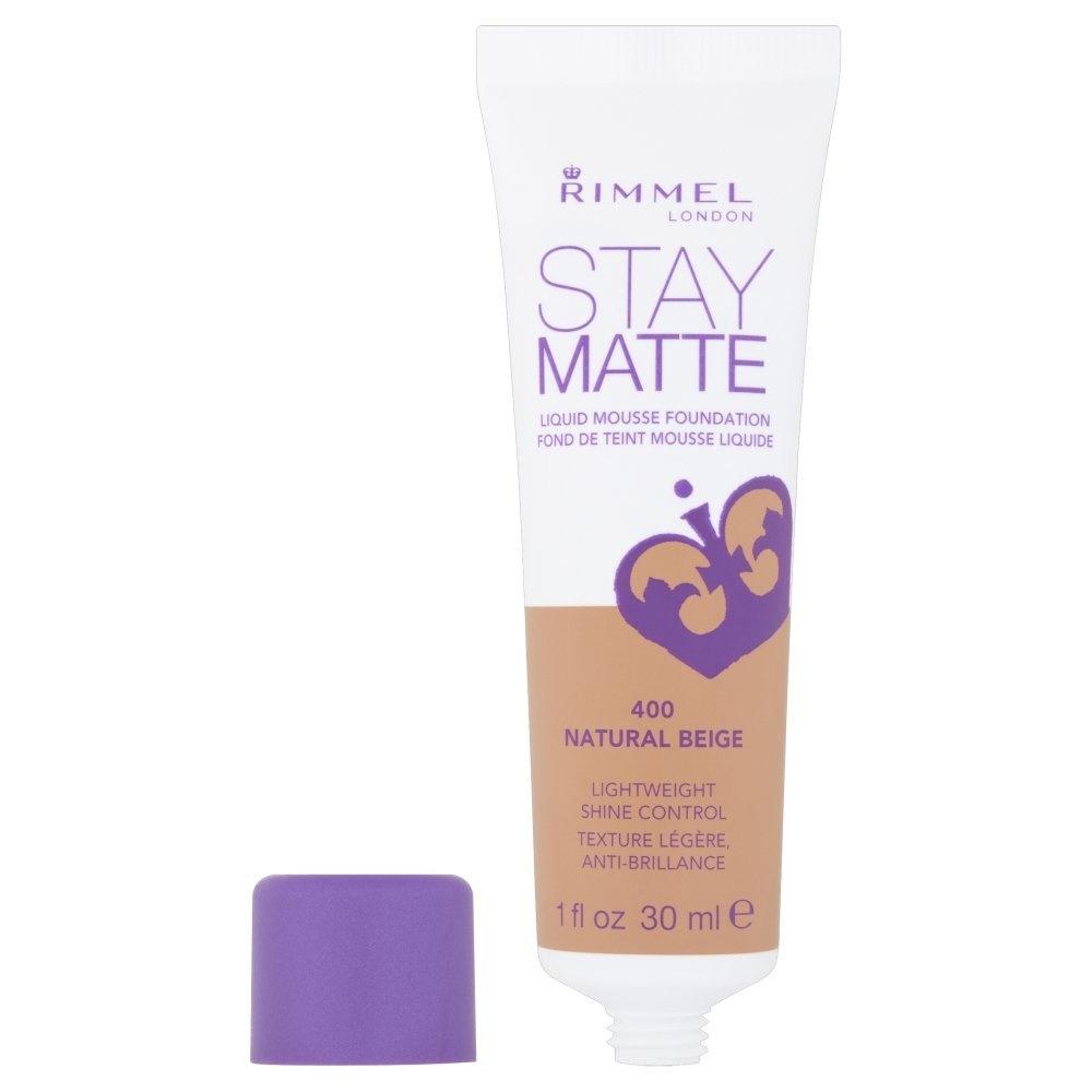 Rimmel Stay Matte Foundation, Natural Beige
