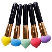 1 pcs Cosmetic Makeup Liquid Cream Foundation Sponge Brush