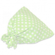 JODA Green Polka Drawstring Bag