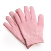 Moisturising Gloves Hand Spa Therapy Treatment---Pink