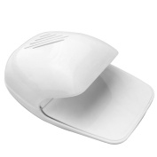 . White Portable Professional Nail Dryer Plastic Drying for Nail Polish Manicure Paints