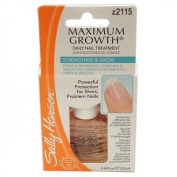 SALLY HANSEN MAXIMUM GROWTH DAILY NAIL TREATMENT# Z2115 CLEAR