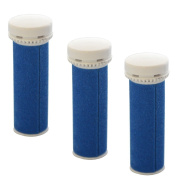 iVog Pedi-Luv 100 Coarse Replacement Rollers - 3 Pack