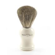 Edwin Jagger Pure Badger Shaving Brush, Imitation Ivory