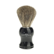 Edwin Jagger Pure Badger Shaving Brush - Imitation Ebony