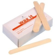 Cyclax Wax It Wooden Waxing Spatulas 100 - CYC2010