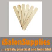 100 Wooden Waxing Wax Disposable Spatulas Sticks