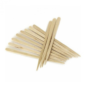 206 Eyebrow Small Wooden Wood Tongue Depressors Spatulas Wax Waxing Tatoo Sticks