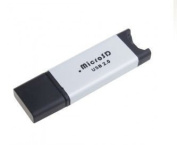 King of Flash Micro SD & Micro SD HC USB 2.0 Hi Speed Fast Memory Card Reader - up to 32GB