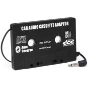 DIGIFLEX Car Black Cassette tape Adaptor for MP3 iPod Nani CD MD