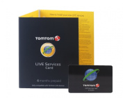 TomTom LIVE Services 6 Months Pre Paid Subscription Card