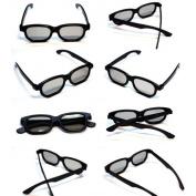 10 x Newest Latest 3D Glasses for 3D Passive LG Panasonic Sony TVs Monitor Passive 3D