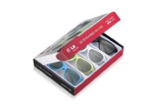 LG Party Coloured Pair of 3D Glasses