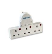 Pro-Elec 3 Switch Adaptor Gang