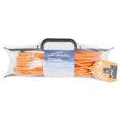 Status 10 Metre 13 Amp Orange Outdoor Extension Cable on 'H' Frame