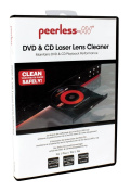Peerless CL-DVL200 DVD and CD Laser Lens Cleaner for DVD Players, DVD Recorders and CD Players