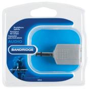 Bandridge 2 x 6.3mm Female to 6.3mm Male Low Noise Headphone Splitter