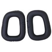 1 Pair of Replacement Ear Pads Cushions for G35 G930 G430 F450 Headphone---Black