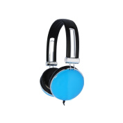 Urbanz Glozz Lightweight Headphones - Blue