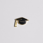 Graduation Hat/Cap- 9mm floating charm will fit Living memory lockets and Origami Owl style lockets