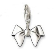 Dream Charms and Silver Jewellery Silver Bow Charm