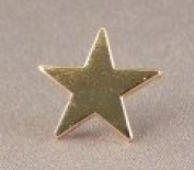 Metal Enamel Pin Badge Brooch Gold Star