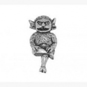 Lincoln Imp Pin Badge Brooch Gift, Supplied in Organza Bag