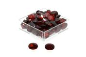 Birth Stone Jewels 6x4mm Garnet Oval Cut Cubic Zirconia Gem Stones Pack Of 2