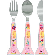 Spearmark Peppa Pig Tropical Pink Cutlery