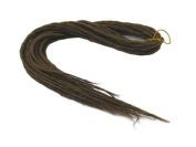 Elysee Star Dreads #18 Dark Golden Brown Dreadlocks Double Ended Synthetic Dread