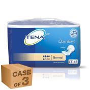 TENA Comfort Normal - 3 Packs of 42