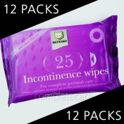 Incontinence Wipes - CASE