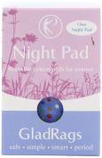 Gladrags Reusable Menstrual Pad - Nighttime/Sage, 1 Pack [Health and Beauty]