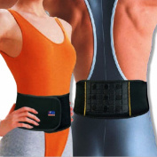 Magnetic Therapy Back Support - Lightweight Neoprene Brace by Neo Physio