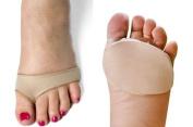 1 pair Ball Of Foot Gel Pads Cushions Forefoot Metatarsal Hard Skin Morton's Neuroma (Large