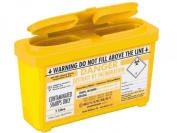 Sharpsguard Sharps Bin 1 litre Yellow - Pack of 2