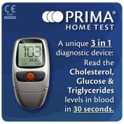 Prima Home Test Multicare-In Metre for Glucose/ Cholestrol/ Triglycerides