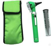 ENT Compact Diagnostic Otoscope. Green