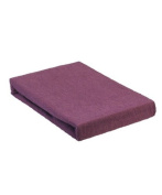 Aztex Classic Value Massage Couch Cover With Face Hole, Aubergine