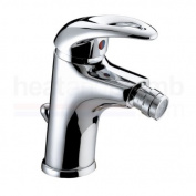 Bristan Java Mono Bidet Mixer Tap with Pop Up Waste Chrome Plated