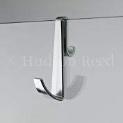 Chrome Robe Hook for Wetroom Screens or Frameless Shower Enclosures