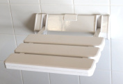 Luxury Folding Shower Seat in White by Shower Enclosures UK