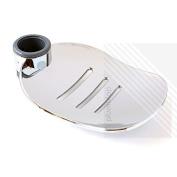 Arian 'Oliver' Large Adjustable Soap Dish for 25mm Shower Riser Rail
