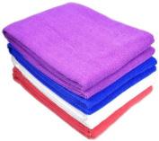 Puregadgets© 2 X White Microfibre Towel Sports Bath Gym Quick Dry Travel Swimming Camping Beach Drying 60 X 120 cm