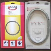 Seb 980157 Seal for Pressure Cooker 4.5 L / 6 L Diameter 220 mm Stainless Steel