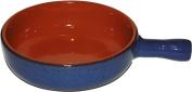 Amazing Cookware 20cm Terracotta Pan - 'Reactive Blue'